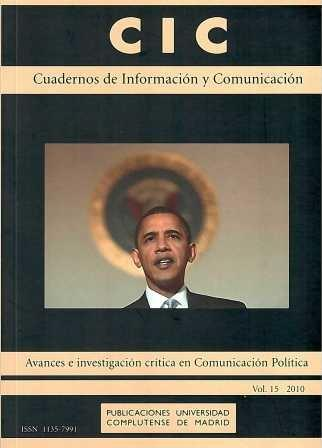CIC, Nº 15-2010, Cuadernos de Información y Comunicación.