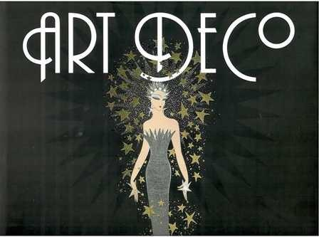 Art Deco. The golden age of graphic art e illustration.