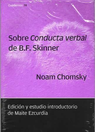 Sobre conducta verbal de B.F. Skinner