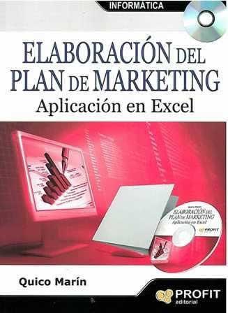 Elaboración del plan de marketing. Aplicación en Excel.