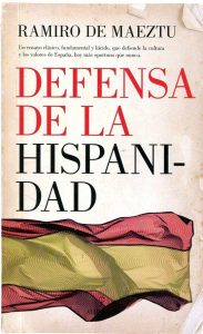 Defensa de la hispanidad.