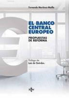 Banco Central Europeo. Propuestas de reforma.
