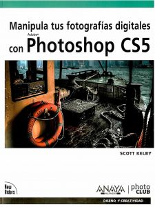 Manipula tus fotografías digitales con Photoshop CS5.