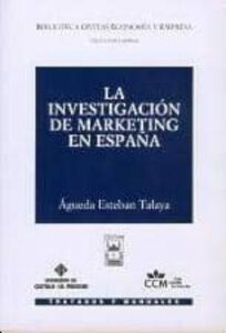 Investigación de marketing en España, La