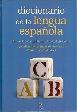 Diccionario de la lengua española. Más de 50000 entradas y 150000 definiciones.