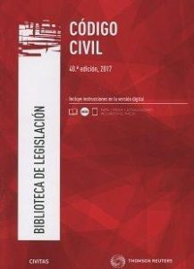 Código civil. 40ª ed. 2017.