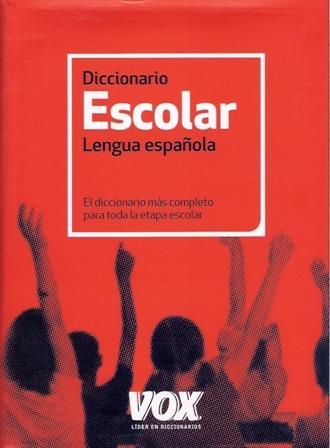 Diccionario escolar  de la lengua española.